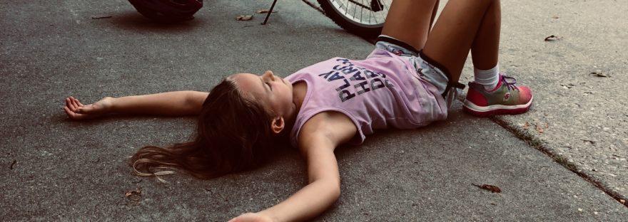 Child on ground