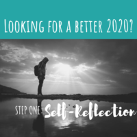 Transformation 2020 – Step 1: Self-Reflection